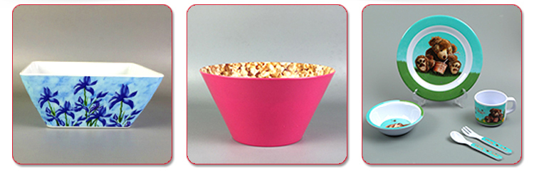 Melamine pink color plastic small soup spoon