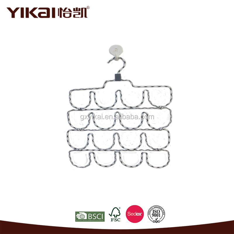YiKai plant metal ring rope hangers for laundry clothes