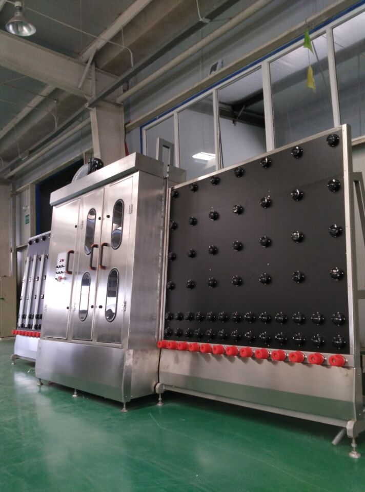 Manufacturer supply vertical glass washing machine