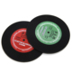 Custom made silicone rubber drinking cup coaster,anti-slip silicone pad mat, silicone cup mat