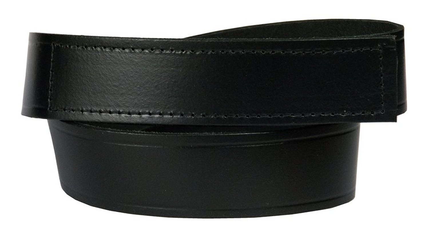 """Men's No-Scratch Mechanic Belt, 100% Top Grain One Piece Leather, 1.5"""" wide, Made in USA"""