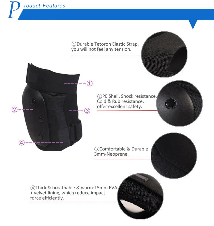 Thick Adjustable Kneelet for Kids/Adult Roller Skates 3