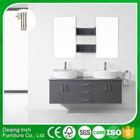 Modern fashion deisgn cheap wall mounted lowes bathroom vanity cabinet