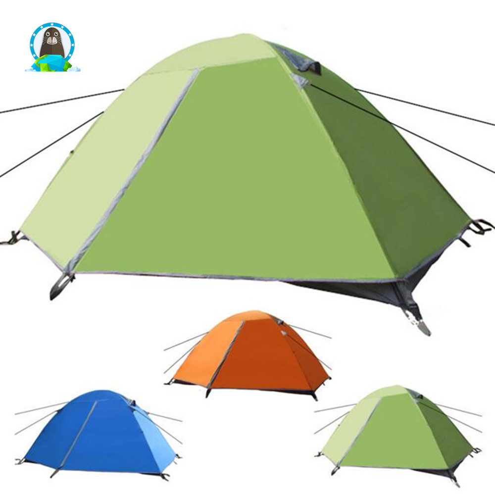 2017 New Style Outdoor Double Layer Waterproof Camping <strong>Tent</strong>