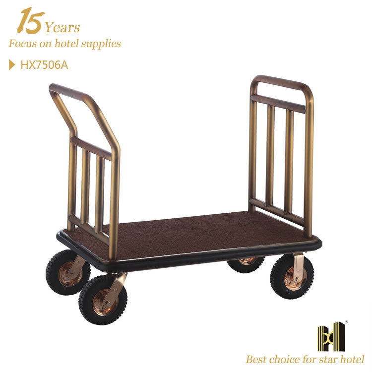 Hotel Hall Good Looking stainless steel bellman trolley