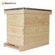 Chinese Wholesale Beekeeping Equipment Bee Keeping Wooden Bee Hives With 10 8 Wood Bee Frames For Sale