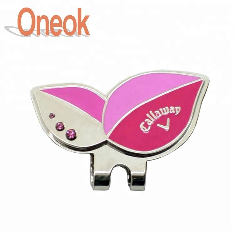 c98990b4cc8 wholesale golf accessories magnetic golf ball marker golf clover hat clip  ball marker