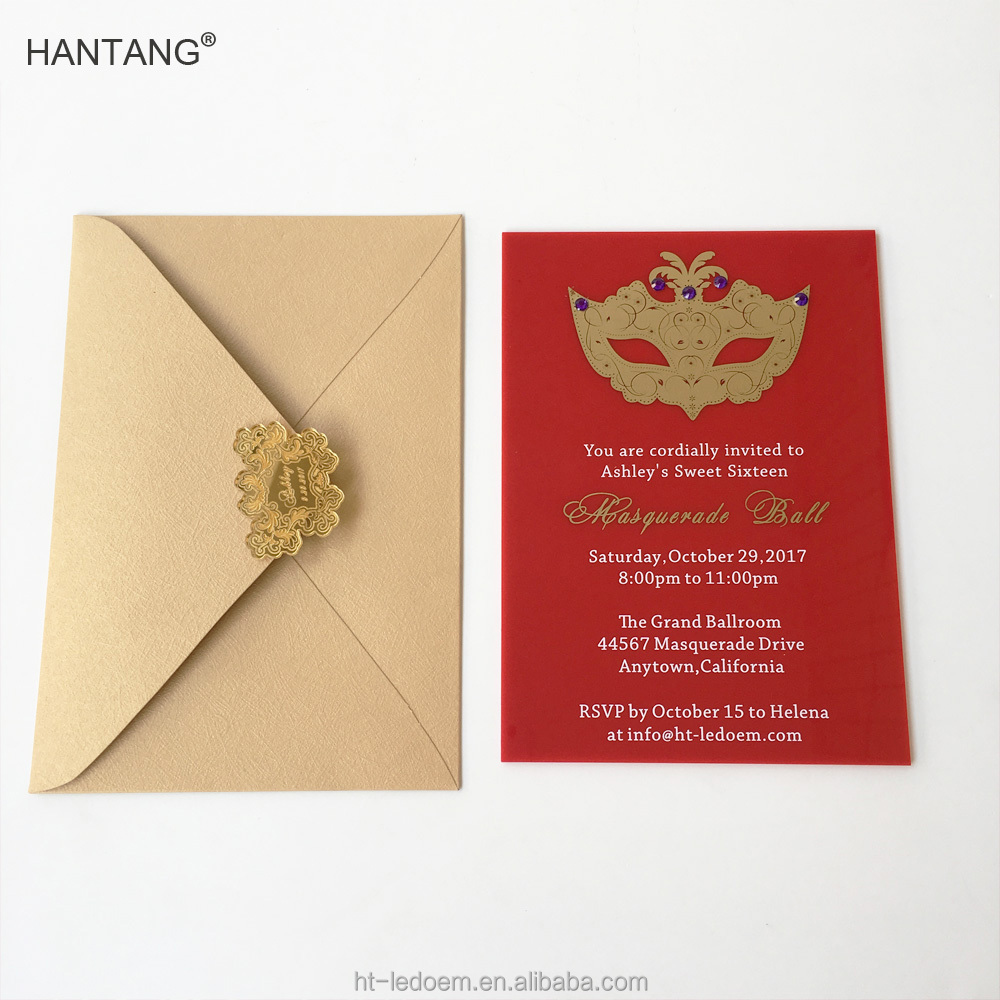 Masquerade Invitations, Masquerade Invitations Suppliers and ...