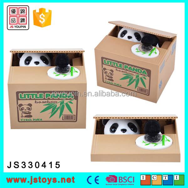new kids items panda money box panda coin box money box for sale