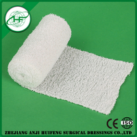 Good toughness fabric medical cotton crepe bandage for medical care