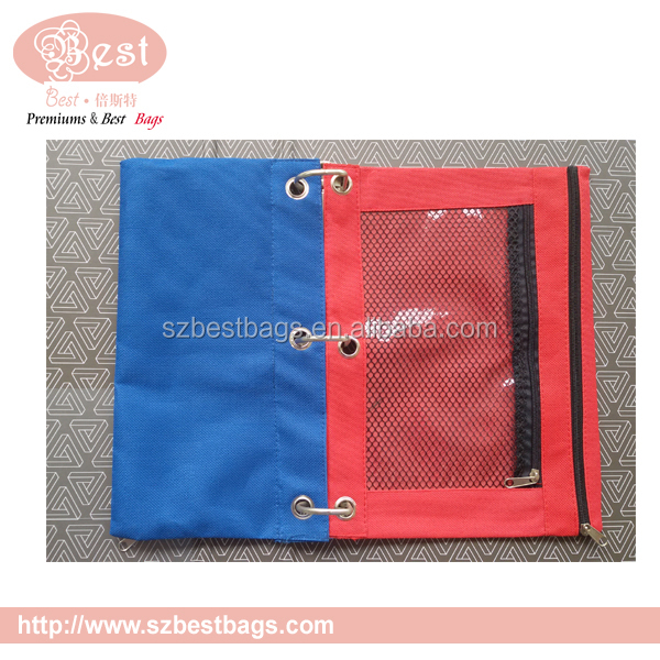 3 ring pencil pouch binder pencil pouch wholesale buy