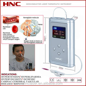 HNC factory portable blood irradiation intra nasal light laser treatment for cardiovascular disease, sinus, rhinitis