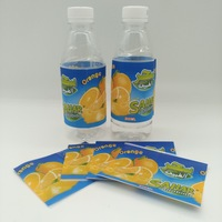 high quality PET water bottle label / printed shrink sleeve label for 5L water bottle