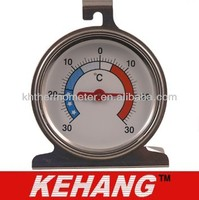 Dia 65mm freezer thermometer 304 Stainless steel sitting thermometer