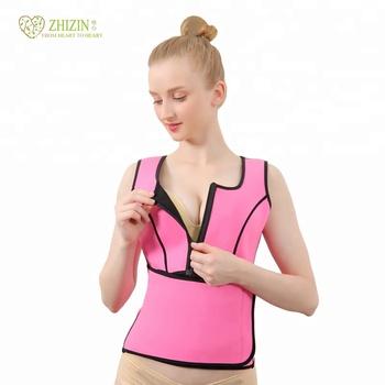 d33068645efba ZHIZIN Womens Body shaper Running Slim long sleeve Hot Sweat Shirts hot  shapers as seen on