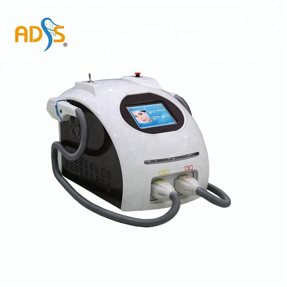 Beauty equipment new style OPT/ IPL fast hair removal+elight+ RF +laser Multifunctional SHR IPL hair removal