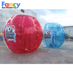 Amazing popular! 1.0mm TPU bubble soccer/bubble football/inflatable soccer bubble ball