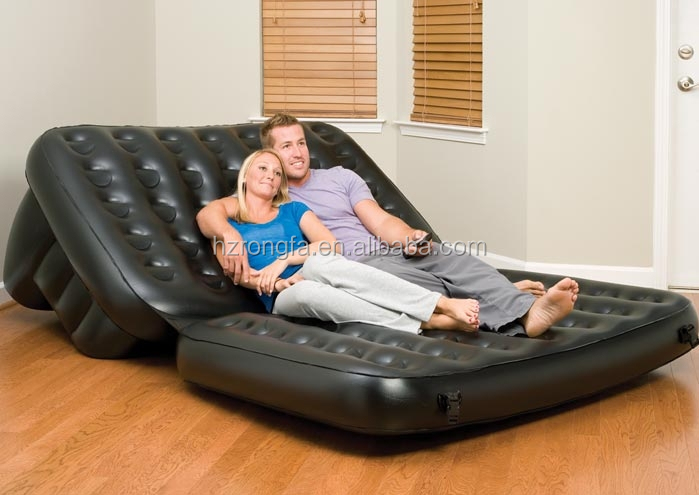 2 people inflatable massage bed air bed inflatable bed for Couch 6 personen