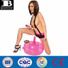 factory customized portable pink inflatable hot seat sex toy love sex chair sofa with vibrating dildo
