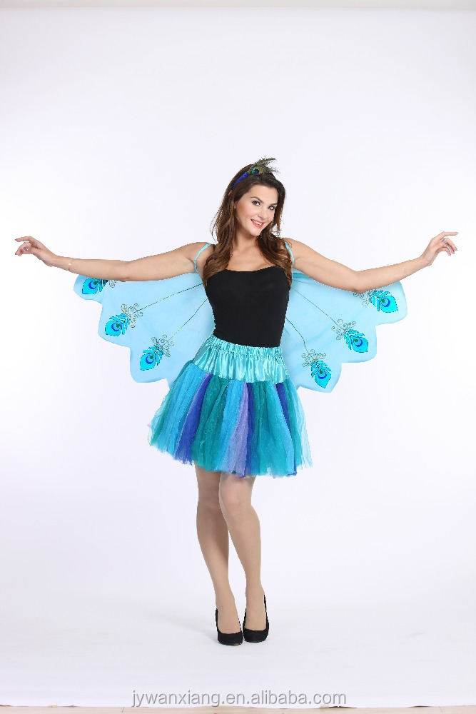 Dream party woman beauty halloween costume cute Chiffon wings