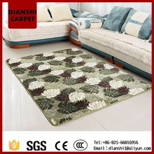 2017 Retro Polyester Bedroom Carpet In Stock