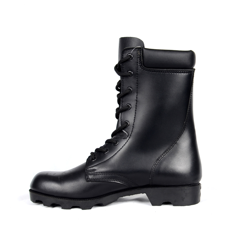 Black Leather Designer Winter Russian