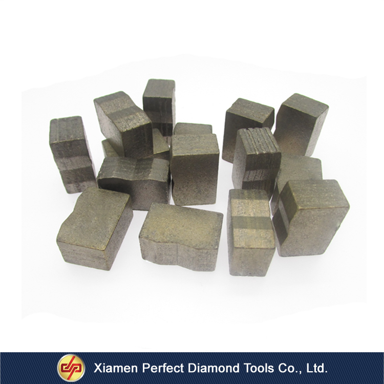 Extremely Sharp diamond segment for core drill bit