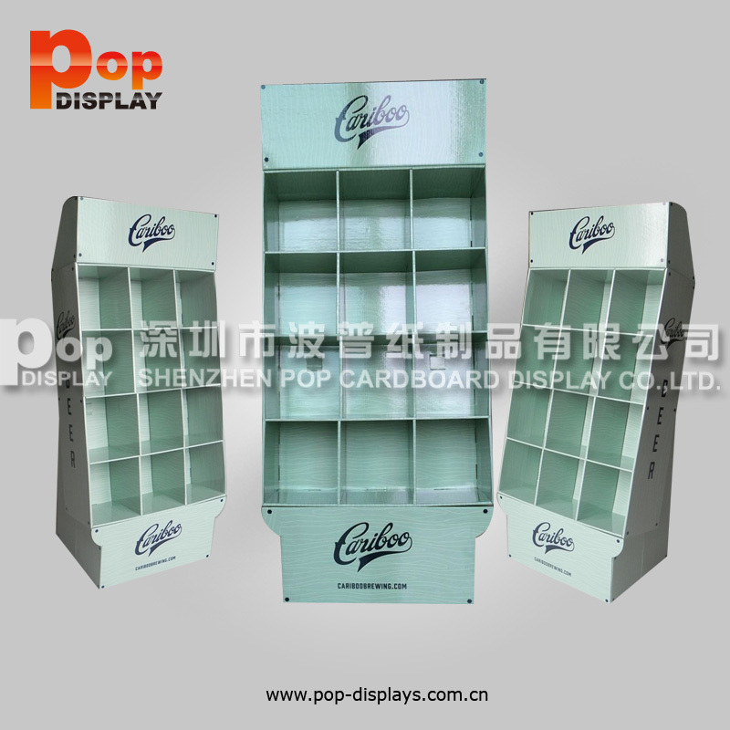 cadac card cardbaord shelf display for store