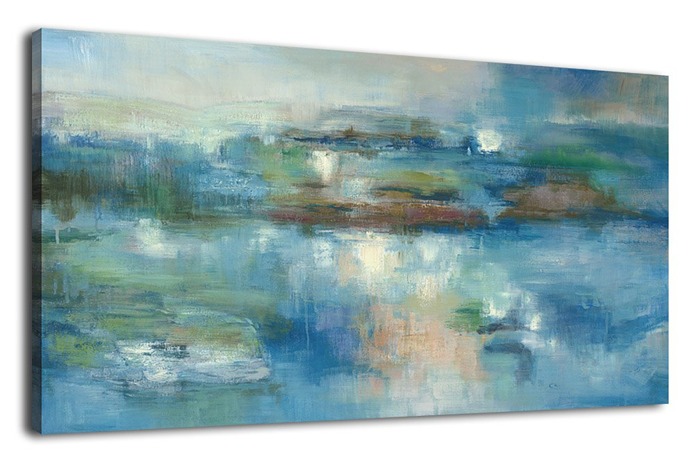 3b89f675ec4 Get Quotations · Abstract Canvas Art Painting Panoramic Pictures  Contemporary Wall Art Modern Canvas Artwork Poster Prints for Home