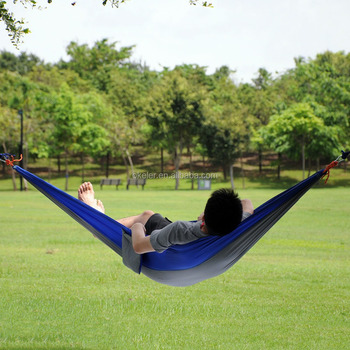 Wholesale Customize 2 Person Nylon Parachute Portable Outdoor Camping Insect Repellent Hammock Tent