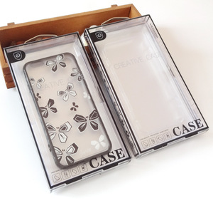 Good quality cell phone accessories plastic packaging box for cell phone case