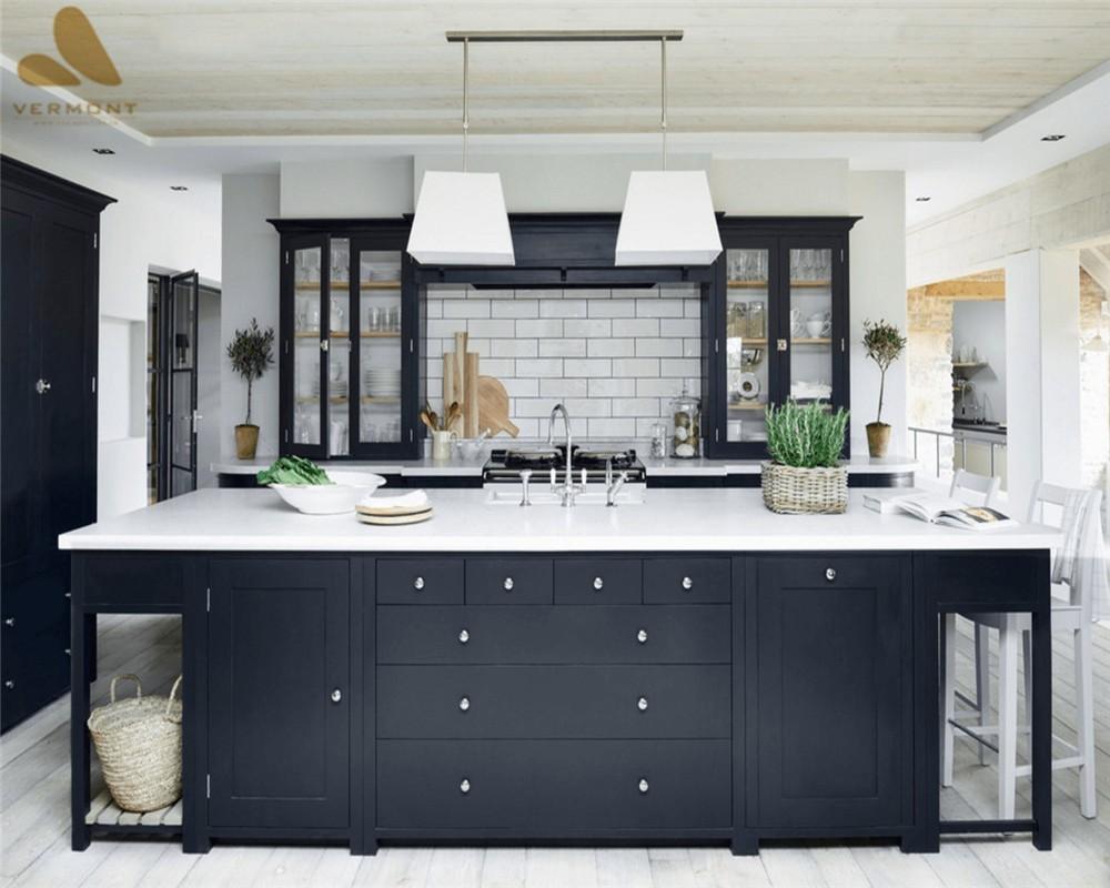 2018 Hangzhou Vermonhouse High Gloss Kitchen Cabinet ...