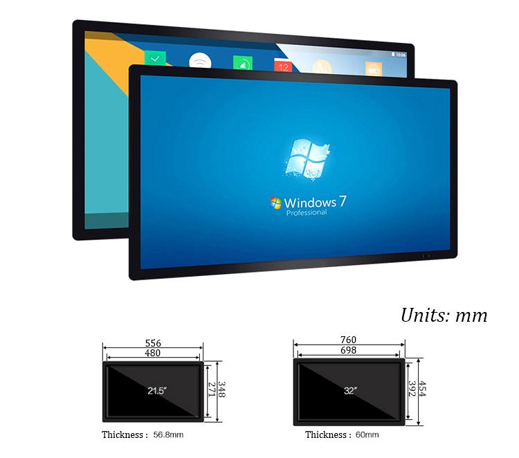 Super Flat 20 Inch Digital Picture Frame With Internet Management ...
