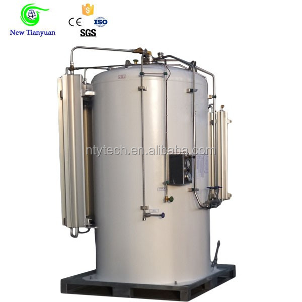 20 Feet Cryogenic Liquid Tank Container Gas Station Tanks for Sale
