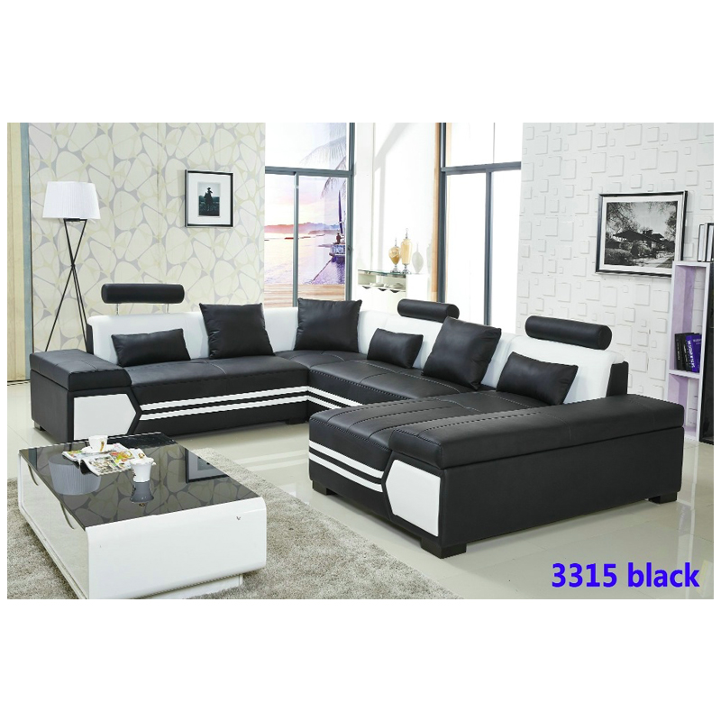 King Size Pu Leather Recliner Sofa And