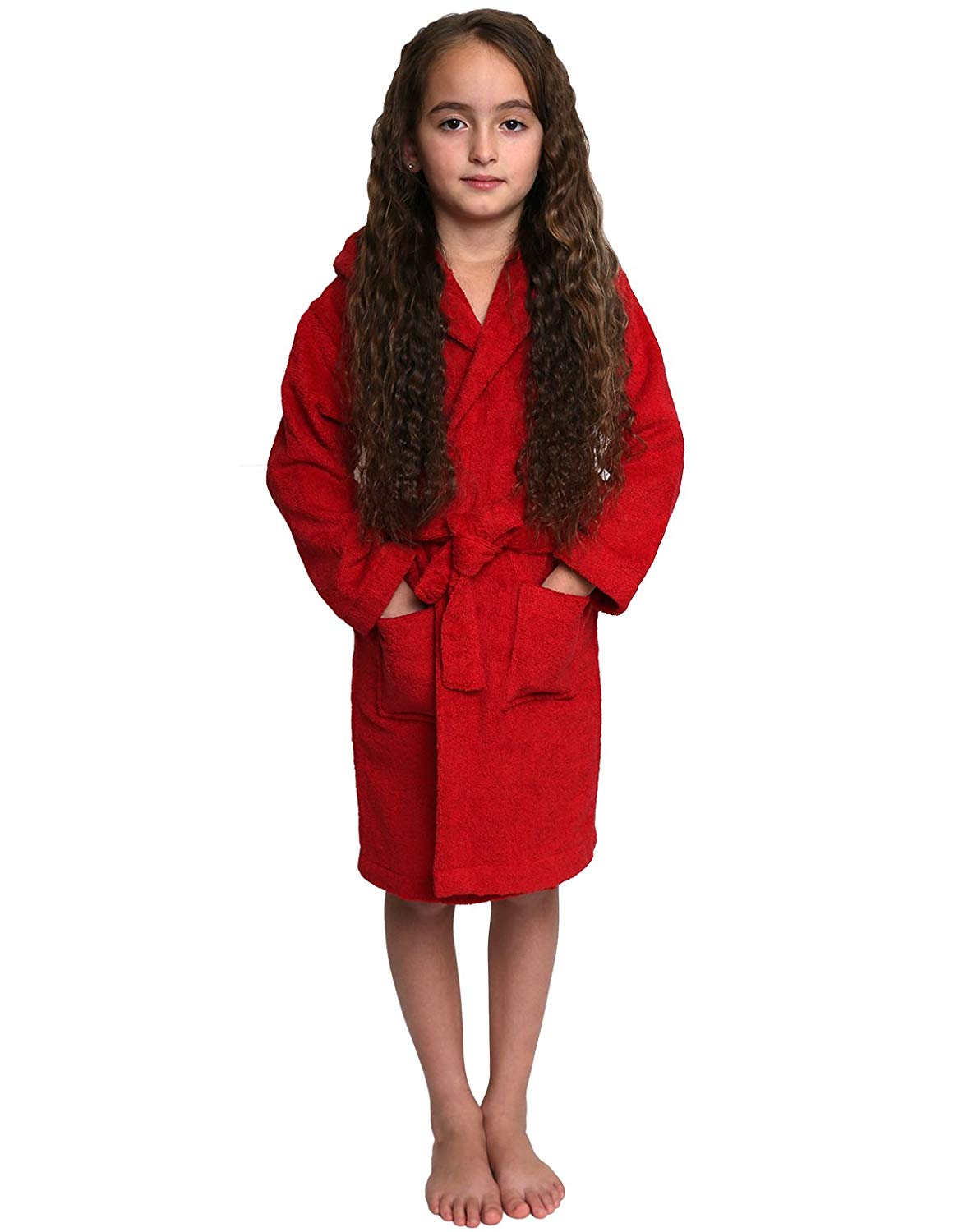 Get Quotations · TowelSelections Girls Robe da345842e