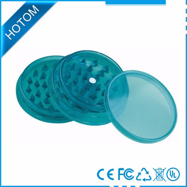 China suppliers new products 2017 plastic herb grinder manual dry herb grinder wholesale
