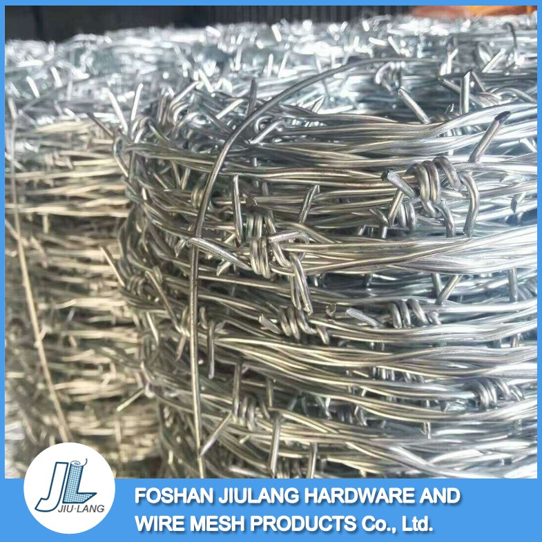 Manufacturer wholesale rodent proof barbed wire price per roll