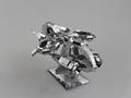 MU 3D Metal Puzzle Star Craft Banshee Thunderhawk Gunship Aircraft TGA S01 Building Model DIY 3D