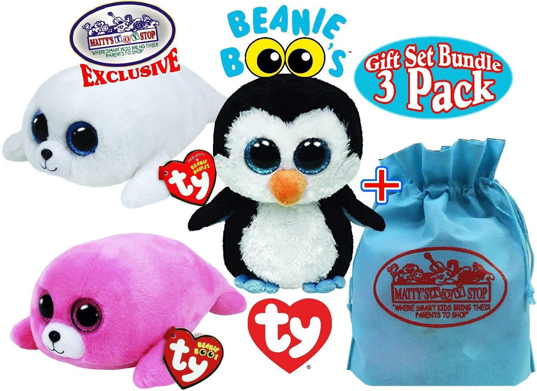 499fb79c144 Buy Original TY Beanie Boos Icy the Seal Big Eyed Plush Toys 15CM ...