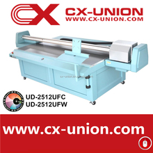 Digital UV Flatbed Printer Machine ud2512ufw eco solvent printer with dx5 print head