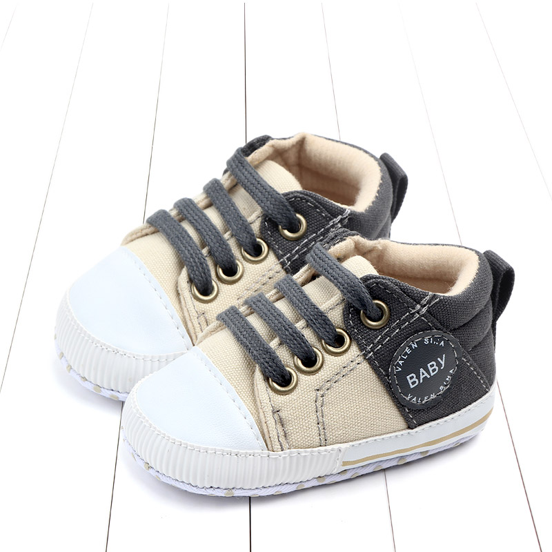 Color matching design handsome infant baby boy shoes