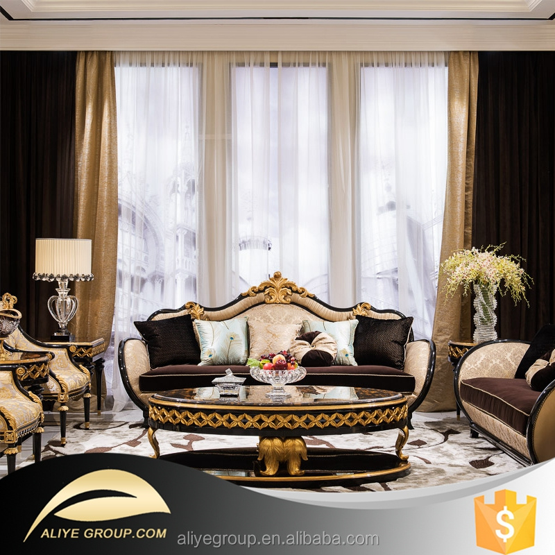 Fine Living Room Furniture: Ti-005- Luxury Living Room Furniture Of Exclusive