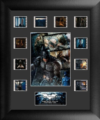 The Dark Knight Rises (S4) Mini Montage - Film Cell - Light Up Unit - Movie Film Cell