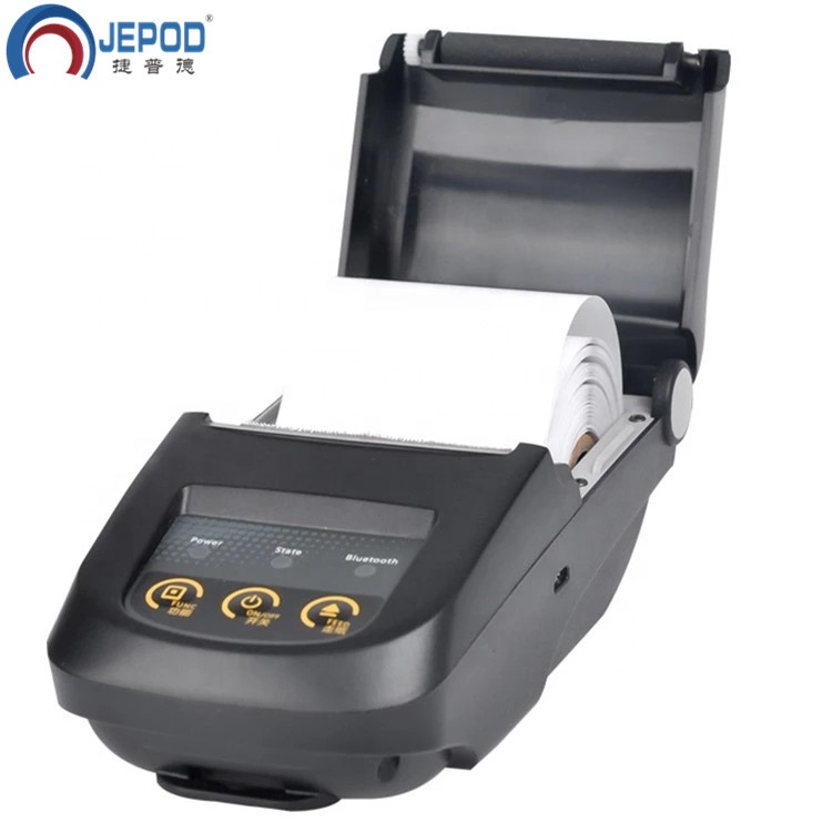 JEPOD JP-5800 Portable Mobile Bluetooth Thermal Printer USB POS Bill Mini Thermal Barcode Label or Receipt Ticket Printer