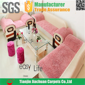 polyester chenille sitting mat