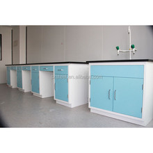 laboratory furntiure drawers dental lab work bench with molded marine edge