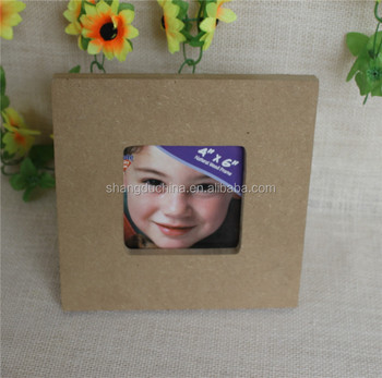Cheap Wholesale Unfinished Mdf Wooden Photo Picture Frames - Buy ...