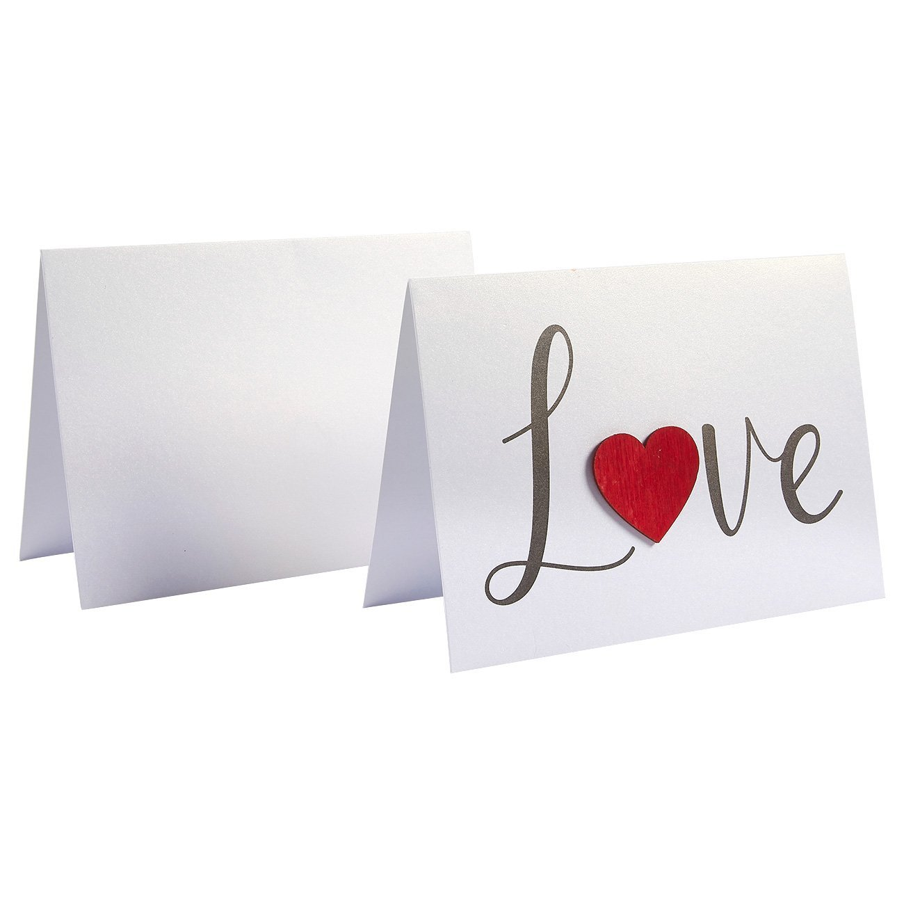 MOQ 300 Valentine Greeting Cards Printing Custom