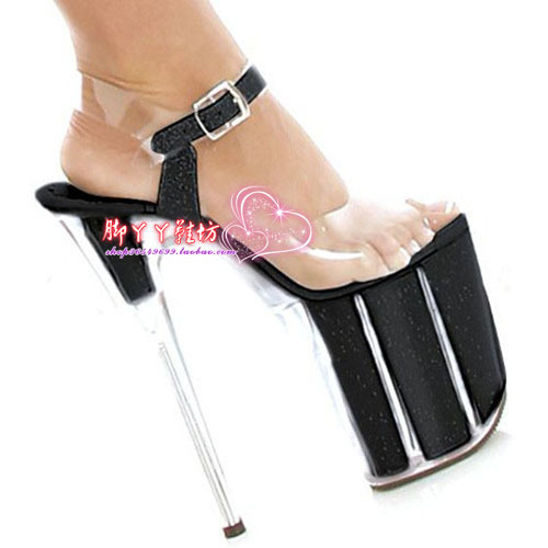 Get Quotations · Free Shipping Summer women s Exotic Dancer shoes 8 inch  crystal bridal shoes 20cm sexy punk shoes bd103357c120